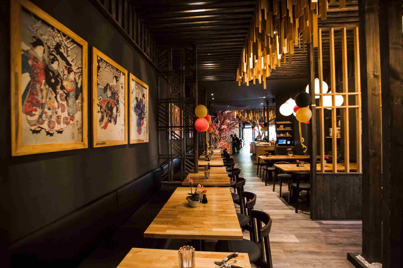 Mido Berlin Sushi Restaurant Inneneinrichtung Ambiente Dekoration Stimmung